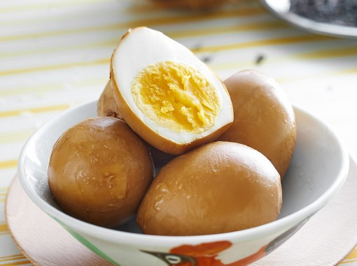 椰香熏鸡蛋<br>Coconut Smoked Eggs
