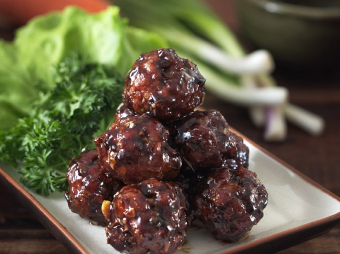 香醇甜肉丸  Sweet & Sour Meatballs
