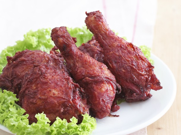 红糟炸鸡<br>Red Wine Residuum Fried Chicken