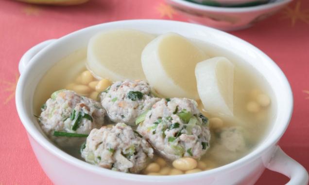 农家客家肉丸汤 Hakka Meatballs Radish Soup