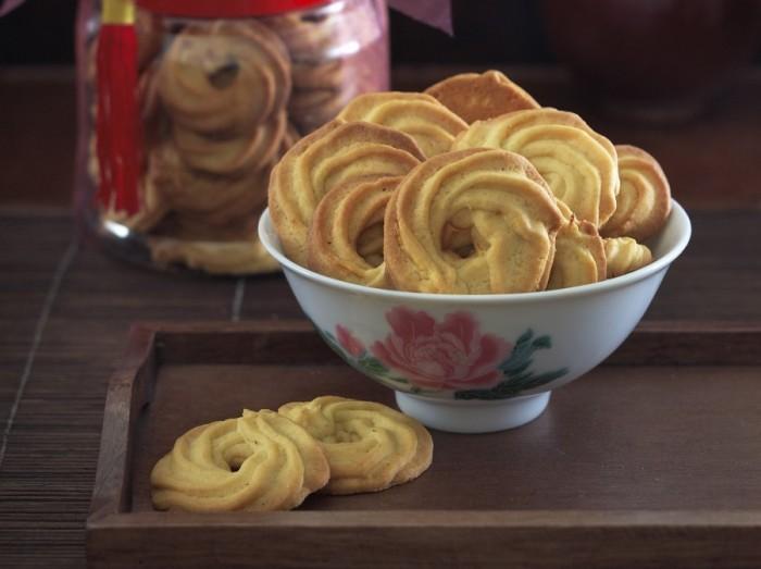 鲜橙牛油曲奇<br>Orange Butter Cookies