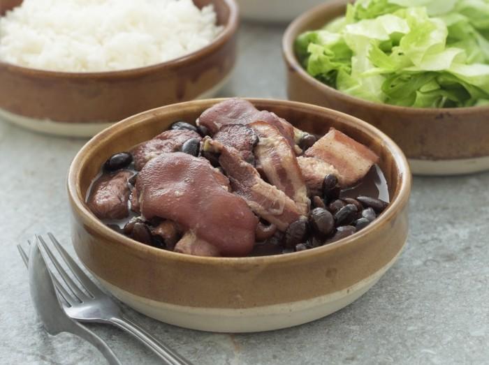 巴西黑豆焖猪肉  Brazilian Black Bean with Pork Stew