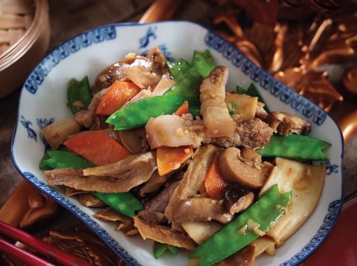 潮州炒笋干<br>Teow Chew Style Fried Bamboo Shoots