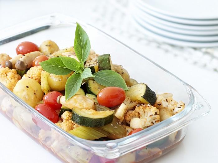西式蔬菜杂烩<br>Mixed Vegetables Stew