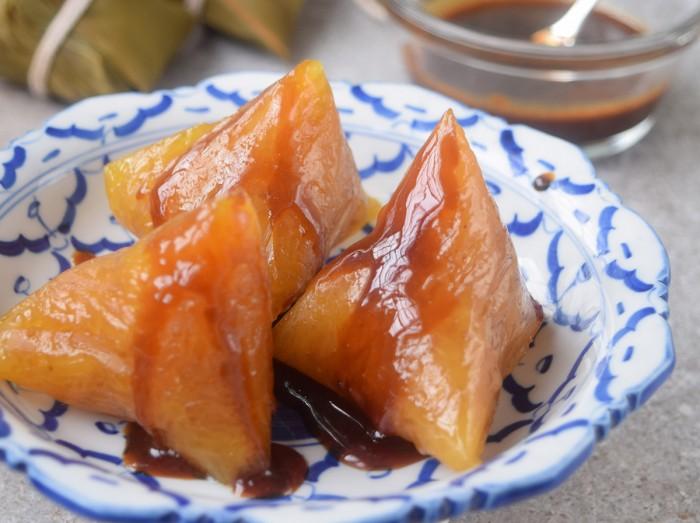 沙谷米水晶粽<br>Crystal Sago Dumplings